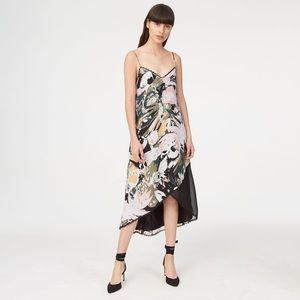 Club Monaco  Kittrick Floral Silk Maxi Dress